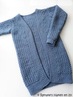 Renate& Crochet and so: Warm cardigan for myself - Knit Cardigan Pattern, Vest Pattern, Crochet Cardigan, Knitting Patterns Free Dog, Knitting Designs, Baby Clothes Patterns, Clothing Patterns, Knitting For Beginners, Knitting For Kids