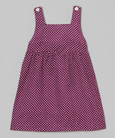Purple & White Polka Dot Jumper - Infant, Toddler & Girls