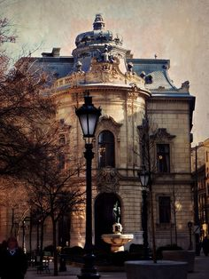 .Wenckheim Palace in Budapest, Hungary