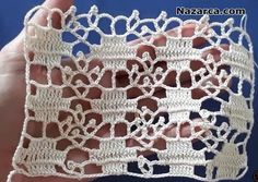 Crochet Shell Stitch, Filet Crochet, Crochet Stitches, Crochet Crafts, Crochet Doilies, Crochet Projects, Crochet Blocks, Crochet Squares, Baby Boy Knitting Patterns