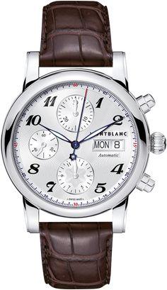 ab88026211a Montblanc presents Montblanc Star Chronograph Automatic Relógios De Luxo