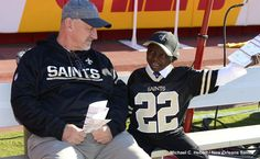 Organ and Tissue Donation Blog℠: Saints super fan Jarrius Robertson receives new liver