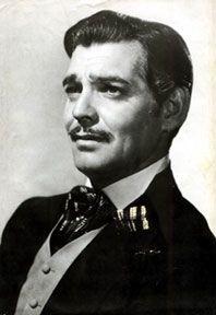Clark Gabel as Rhett Butler