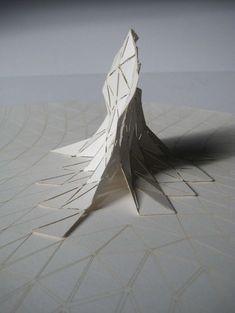 Parametric lasercut architectural model