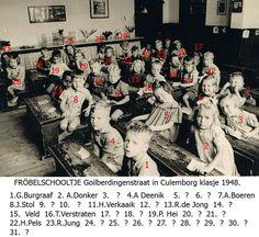 Fröbelschooltje klas 1948