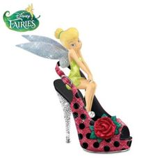 """Cute As A Bug"" Tinker Bell Ladybug-Inspired Figurine - would be perfect for the room Peyton wants"