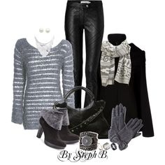 """""""It's Almost Winter"""" by stephaniebeckette on Polyvore"""