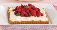 Sandra Lee Mixed Berry Cream Tart- Mixed Berry Cream Tart