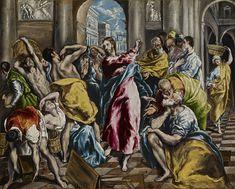 【主イエス・キリスト 主耶穌基督 Lord Jesus Christ】 El Greco - The Purification of the Temple - WGA10541 - エル・グレコ - Wikipedia
