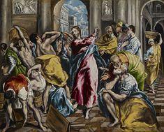 【主イエス・キリスト 主耶穌基督 Lord Jesus Christ】 El Greco - The Purification of the Temple - WGA10541 - エル・グレコ - Wikipedia
