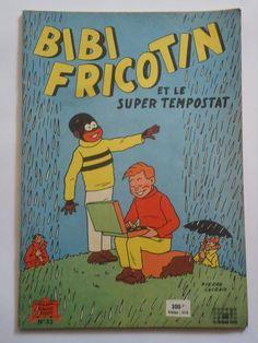 BIBI FRICOTIN  n° 33  ET LE SUPER TEMPOSTAT