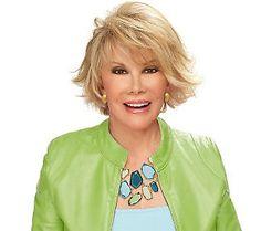 Joan Rivers Hair Styles Joan Rivers Hair Stylelove It Hairstyles  Pinterest  Joan .