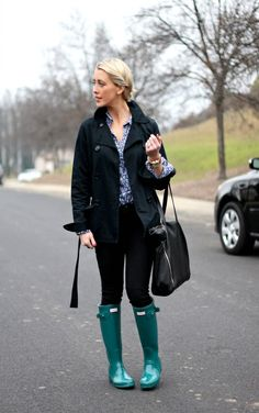 Hunter boots love | option 1 (lagoon)