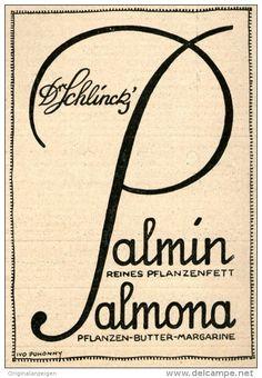 Original-Werbung/Anzeige 1914 - SCHLINCK PALMIN / PALMONA  - ca. 75 x 110 mm