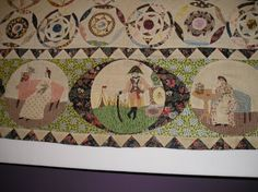 A Quilters Journal: Quilts 1700-2010 Victoria and Albert Museum London - the George III Quilt.