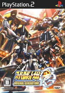 Super Robot Taisen Original Generations ps2 iso rom download