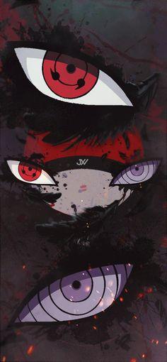 Anime Naruto, Naruto Cool, Naruto Eyes, Anime Akatsuki, Sasuke Uchiha Shippuden, Naruto Shippuden Characters, Naruto Fan Art, Naruto Uzumaki Shippuden, Itachi
