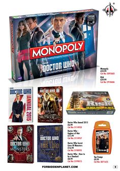 Christmas at Forbidden Planet! https://forbiddenplanet.com/?tag=doctor-who
