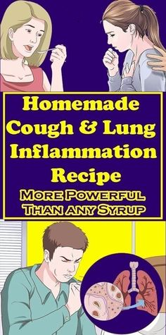 Homemade Cough and Lung Inflammation Recipe More Powerful Than any Cough Syrup and Faster Acting