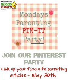 We are back with another collection of great parenting, craft and advice posts for you and the kids. Pop along to see what we have, and add your own posts and articles too.
