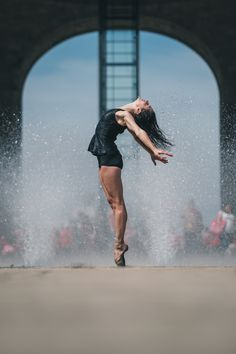 Gratitude—that's what New York-based photographer Omar Robles took away with him after his latest experience photographing ballet dancers in urban backdrop