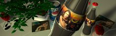 059 - #3D #Advertising -Nr 2- ... Rachel Lorin #Dance #Music - OXYGEN's THE NEXT BIG THING #NY #NYC #ILOVENY [PEPSI can]