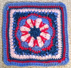 """Ravelry: Teacuplane's Tussy-Mussy 12"""" Squares"""