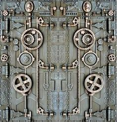 steam punk doors | 6428020129_8bde72e11e.jpg