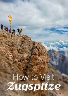 How to Visit Zugspitze from Germany and Austria. Information about the German cable car, the Austrian cable car, hiking up Zugspitze, and visiting the highest peak in Germany.