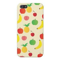 Fruit Salad Pattern iPhone 5 Cover - lifestylerstore - http://www.lifestylerstore.com/fruit-salad-pattern-iphone-5-cover/