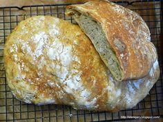 Stare Gary: Chleb orkiszowy ubijany - lutowa piekarnia