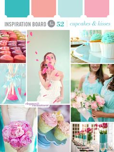 Cupcakes and Kisses - sweet wedding inspiration!