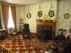 Formal Parlor, Lincoln Home