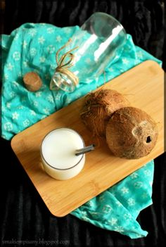 Domowe mleczko kokosowe by Smakiempisany Dairy, Cheese, Food, Essen, Meals, Yemek, Eten