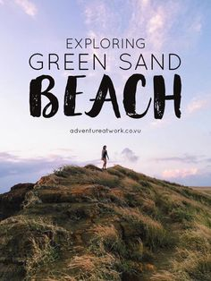 Most beaches you find will be white or peach colored, but this one is GREEN. Here's what it's like exploring an incredibly rare green sand beach!