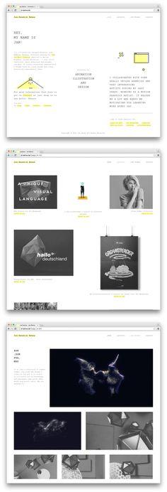 minimalistic portfolio site // jh-behne.de  #minimal #website #portfolio Portfolio Site, Minimal, Language, Animation, Graphics, Website, Illustration, Design, Graphic Design