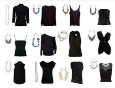 Different looks for different necklines!  How cool is that!