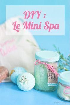 Cadeau dernière minute : Un Mini-Spa fait maison ! Homemade Gifts, Diy Gifts, Mini Spa, Diy Cadeau, Homemade Cosmetics, Gourmet Gifts, Homemade Beauty Products, Last Minute Gifts, Diy Beauty