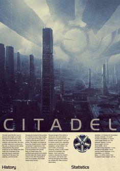 Mass Effect Citadel Vintage Poster by Titch-IX.deviantart.com on @deviantART