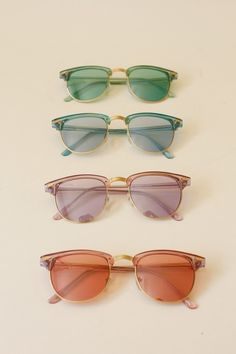 Summer calls for a sunglasses collection.