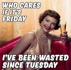 I don't drink but I thought this was funny lol the look on her face - Humor Its Friday Quotes, Friday Humor, Retro Humor, Vintage Humor, Sarcastic Humor, Funny Jokes, Funny Stuff, Funny Things, Sayings
