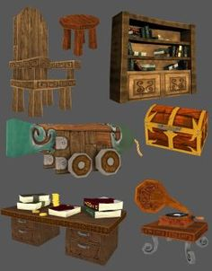 Game assets by gorverius