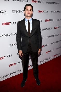 Max Carver Photos - Actor Max Carver attends the Annual Teen Vogue Young Hollywood Party with Emporio Armani on September 2014 in Beverly Hills, California. - Annual Teen Vogue Young Hollywood Party With Emporio Armani Carver Twins, Max Carver, Teen Wolf, Charlie Carver, Hollywood Party, Teen Vogue, Photo L, Celebs, Celebrities