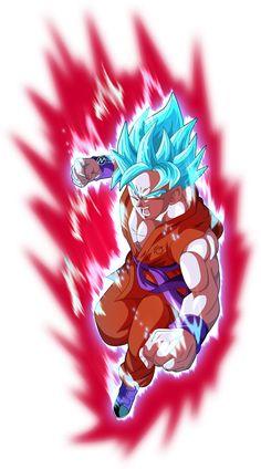 Goku super saiyan blue kaioken_x10 #dbs by_naironkr-da483m2
