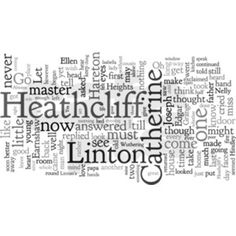 Two things I love ... Wuthering Heights and Wordle