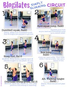 great body slimming workout !