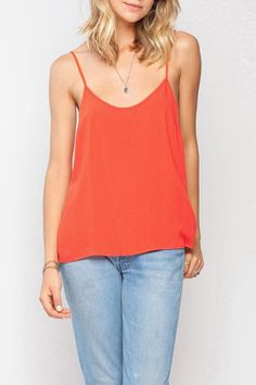 Cute tank in a fun bright color. Easy fit and goes with almost everything!!   Mills Tank by Gentle Fawn. Clothing - Tops - Tees & Tanks Canada