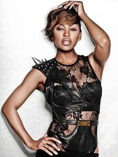 Meagan Good Tattoo : meagan, tattoo, Megan, Goode, Ideas, Good,, Short, Hairstyles,, Styles