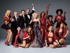 Kinky Boots Musical | Vanity Fair - Grooming of Fierstein, Mitchell and Sands by Elaine Madelon. Photo Henry Leutwyler