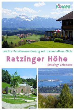 Ratzinger Höhe Familienwanderung – Chiemsee Top family trip and easy hike with a fantastic view of the Chiemsee to the Ratzinger height. Italy Vacation, Vacation Deals, Travel Pictures, Travel Photos, Cruise Tips Royal Caribbean, Road Trip Hacks, Europe Destinations, Culture Travel, Romantic Travel